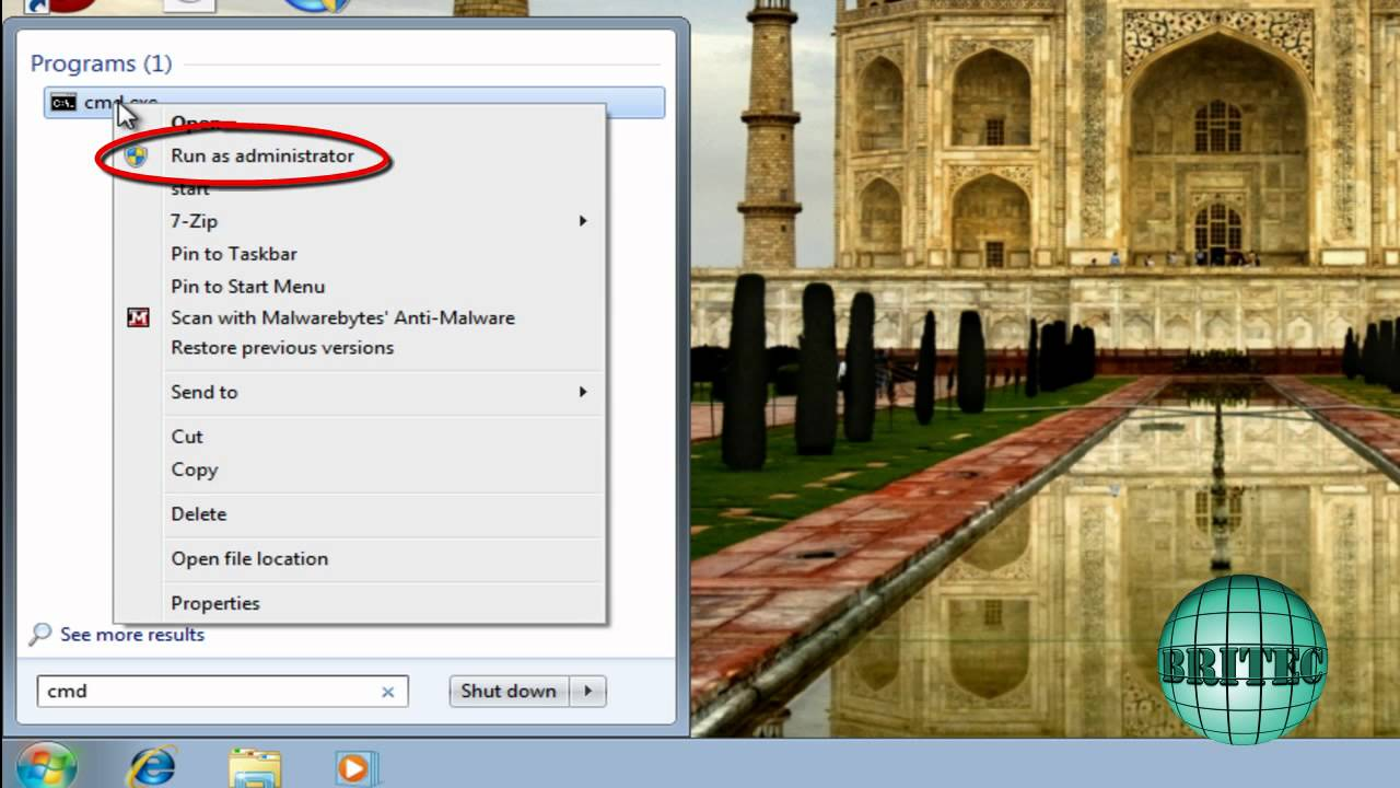Fix Rundll32.exe Error Corrupted, Missing or Damaged on Windows 7 by Britec