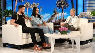 Video Can Ellen Get Steph & Ayesha Curry to Reveal Their Baby's Gender? MP3, 3GP, MP4, WEBM, AVI, FLV Maret 2019
