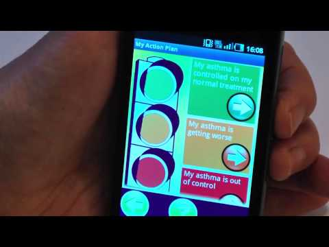 Video of My Asthma Log