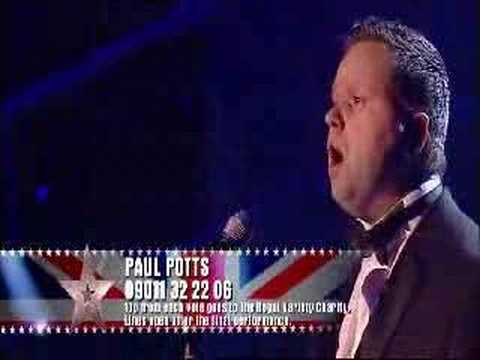 Paul Potts (FINAL) - Nessun Dorma