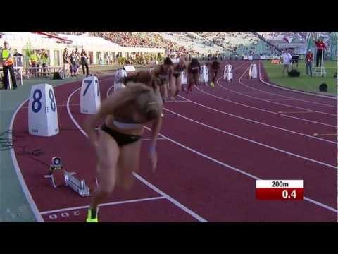 Gyulai István Memorial 2012 - 200m női síkfutás