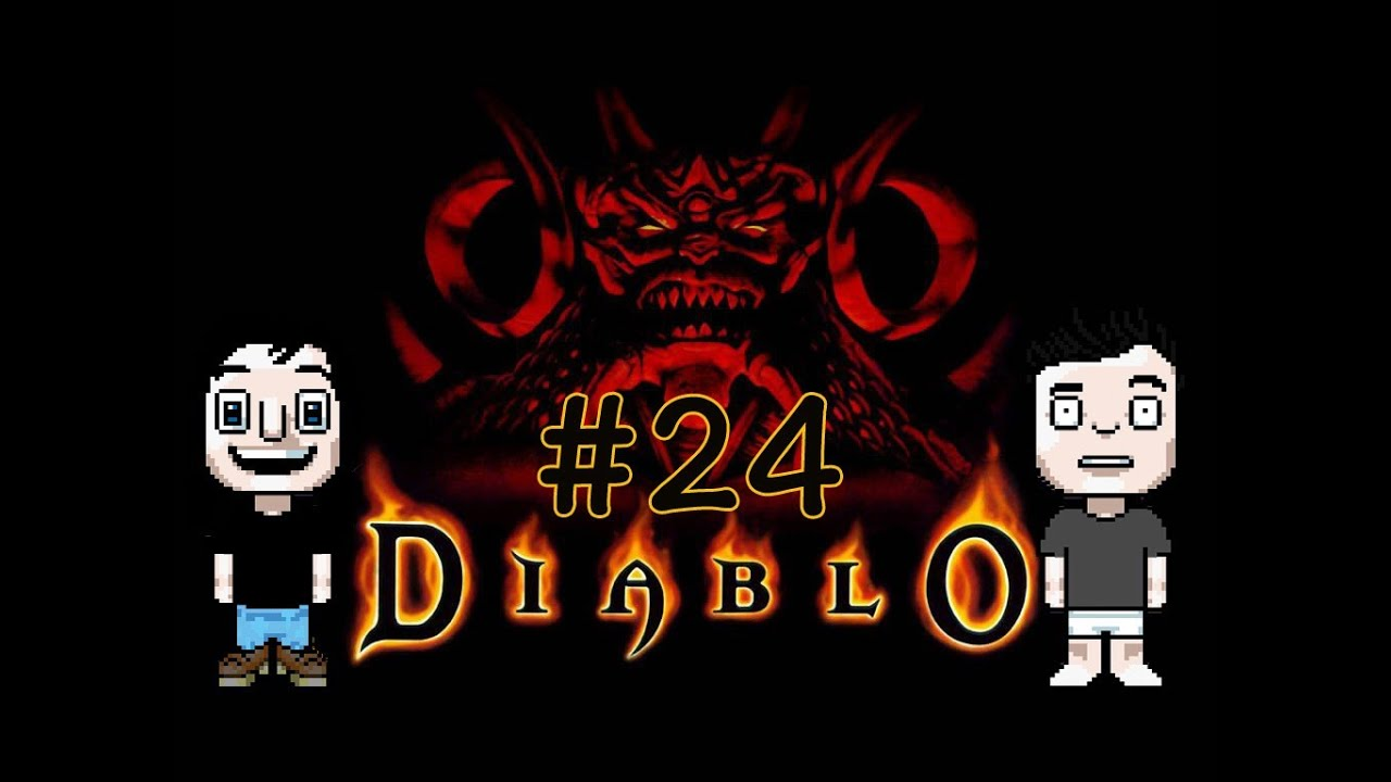 Let's Play: Diablo [PS1] – #24 – Diablo Bossfight (Die Erlösung)
