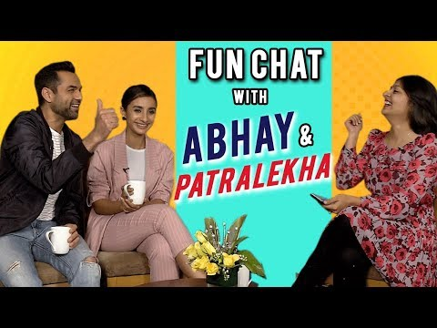 FUN CHAT With Abhay Deol & Patralekha | Talk about
