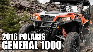 3. 2016 Polaris General 1000 Review
