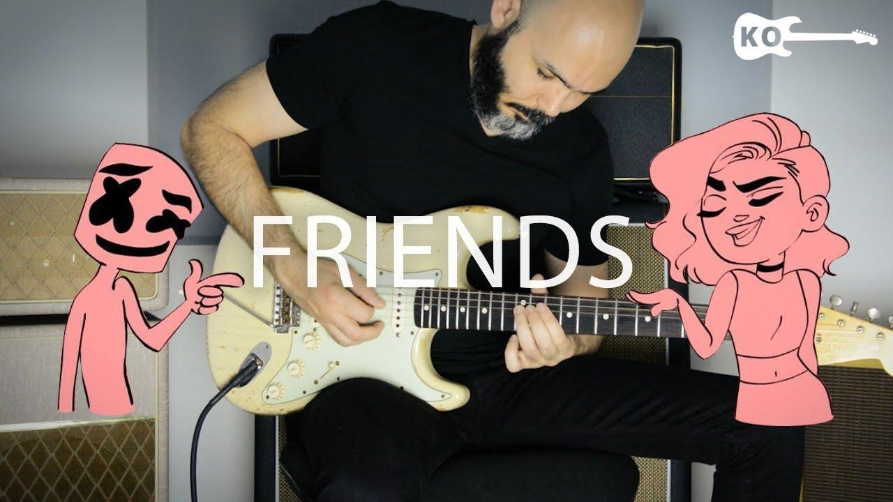 Marshmello & Anne-Marie – Friends – Electric Guitar Cover by Kfir Ochaion