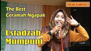 Video THE BEST CERAMAH NGAPAK USTADZAH MUMPUNI HANDAYAYEKTI MP3, 3GP, MP4, WEBM, AVI, FLV Januari 2019