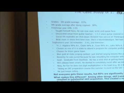 ADHD Alternative Approach Cogmed Case Study of 1 My Son 1 min 16 sec