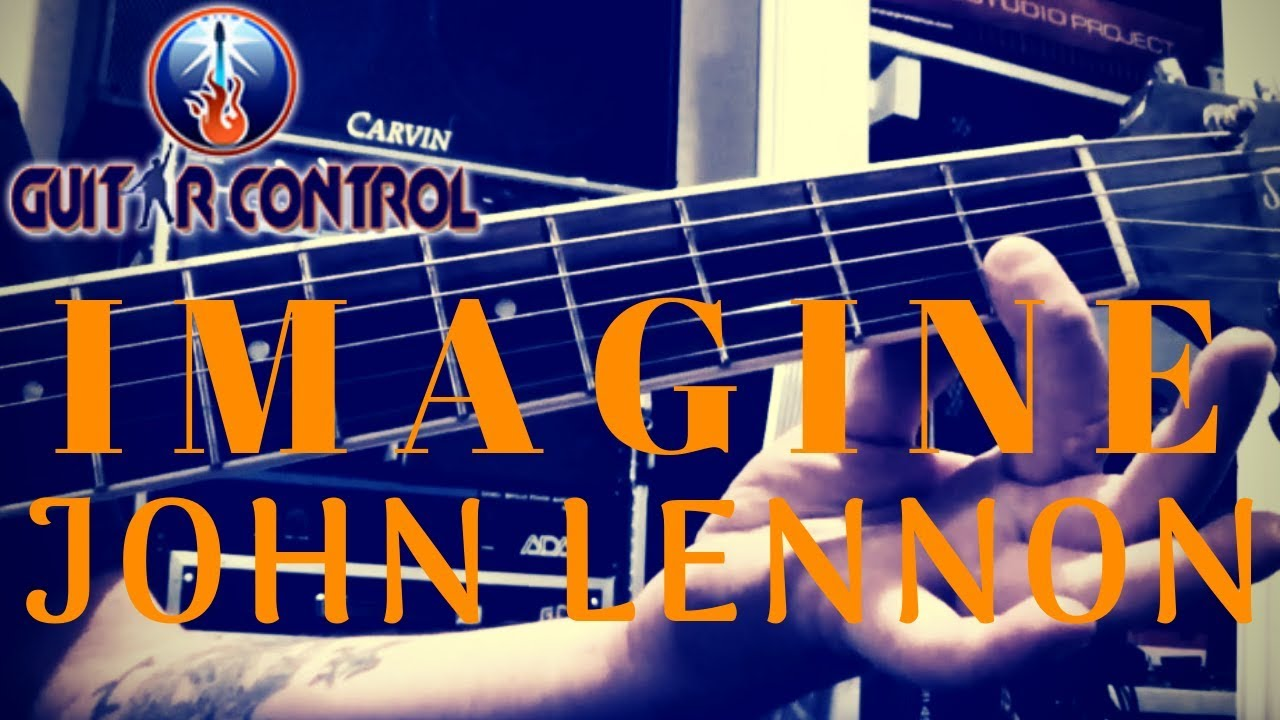 How To Play Imagine By John Lennon – Fingerstyle Arrangement For Acoustic Guitar