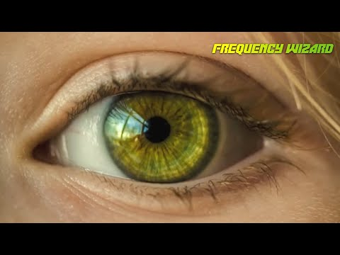 Get Multi-ring Multi-shade Yellow Green Eyes Fast! Subliminals Frequencies Hypnosis Biokinesis