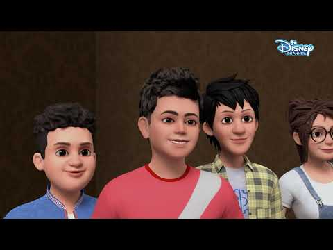 Super V   Virat's Adventures Part 1  Hindi Cartoons   Disney India