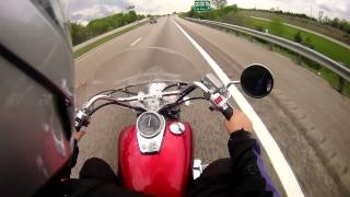 10. REVIEW:  2011 Honda Shadow Aero