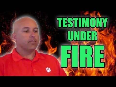TESTIMONY UNDER FIRE – Christian Cyr (Believe The Sign Refuted)