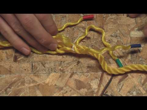 Splicing Two Ropes Together - HD