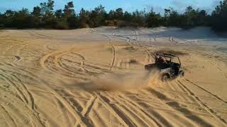 10. CAN-AM HD8 Defender Dunes Ride