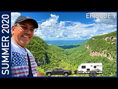 Hiking Beautiful Cloudland Canyon, Georgia - Summer 2020 Episode 9