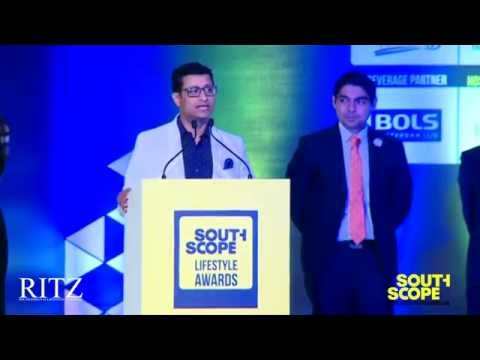 Rupam Dutta of Feathers Hotel speaks at The RITZ presents SouthScope Lifestyle Awards