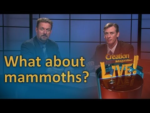 What about mammoths? (Creation Magazine LIVE! 6-14)