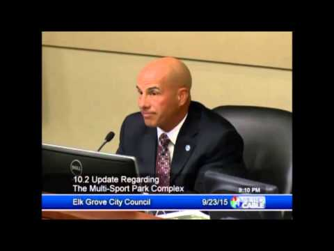 Elk Grove City Council, Public Discuss Proposed Soccer Facility