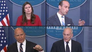 Video How Stephen Miller and Sarah Huckabee Sanders Defend President Trump MP3, 3GP, MP4, WEBM, AVI, FLV Januari 2018