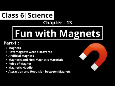 Class 6 | Science | Chapter - 13 : Fun With Magnets (Part-1) видео