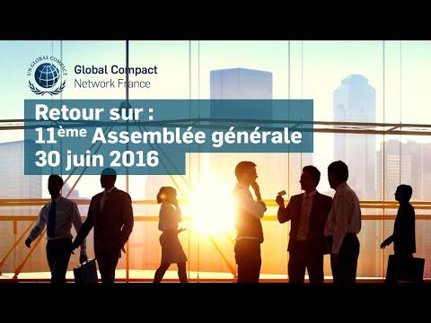 Assemblée générale 2016 - Global Compact France