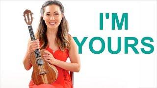 I'm Yours - Jason Mraz Easy Ukulele Tutorial with Riff and Play Along