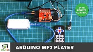 Arduino Project: MP3 player with IR remote control DIY In this video we demonstrate the construction of an Arduino powered MP3 player with an Infrared remote...