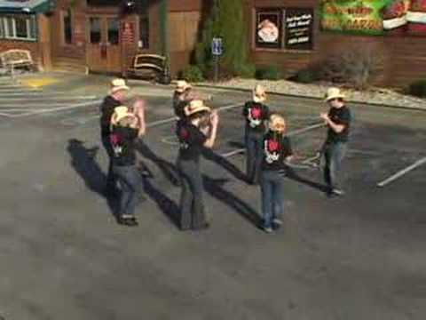 Texas Roadhouse Owensboro KY Line Dance Championship Video