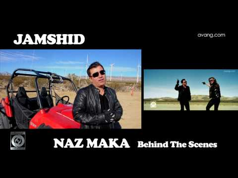 Mansour & Jamshid - Naz Maka OFFICIAL BEHIND THE SCENES VIDEO HD (видео)