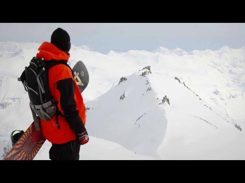 Backcountry Lines in Kamchatka