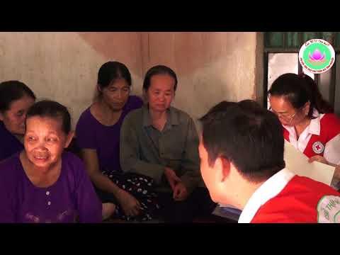 Câu lạc bộ Tình Người về  huyện Mê Linh, thành phố Hà Nội khảo sát và xây Nhà Chữ thập đỏ