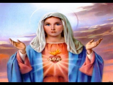consacrazione al sacro cuore di maria. coroncina
