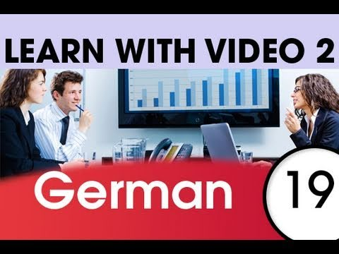 Learn German with Video – German Words for the Workplace