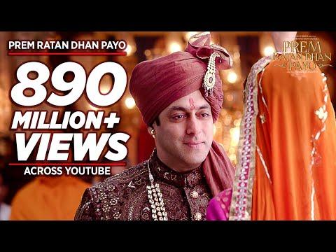 Video 'PREM RATAN DHAN PAYO' Title Song (Full VIDEO) | Salman Khan, Sonam Kapoor | Palak Muchhal T-Series download in MP3, 3GP, MP4, WEBM, AVI, FLV January 2017