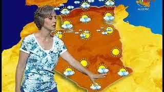 Retrouvez la météo de ce dimanche 07 juillet 2019 Canal Algérie