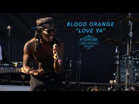 "Blood Orange Perform ""Love Ya""   Pitchfork Music Festival 2016"