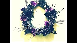 DIY: Make a Chic Holiday Wreath in 5 Easy Steps