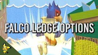 Falco's ledge options – SSBM Tutorials