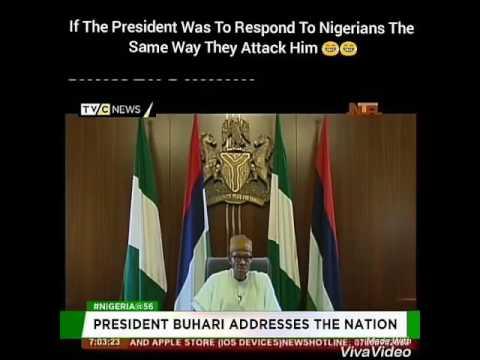 Buhari responds to Nigerians