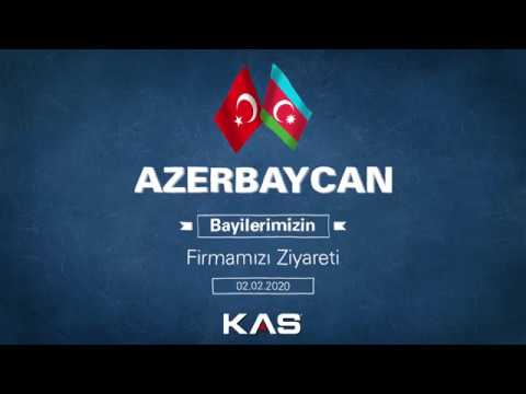 Azerbaycan KAS Bayi Misafirlerimizin Firmamızı Ziyareti