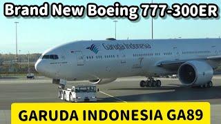 Video Flight Report : Garuda Indonesia Boeing 777-300ER PK-GIG GA89 Amsterdam to Jakarta MP3, 3GP, MP4, WEBM, AVI, FLV Desember 2018