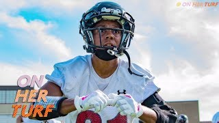 Chante Bonds is proof women's football is for real I On Her Turf I NBC Sports