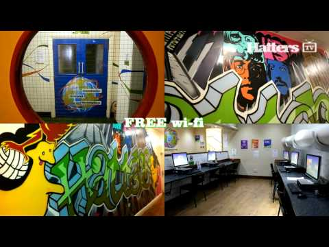 Wideo Hatters Hostel- Liverpool