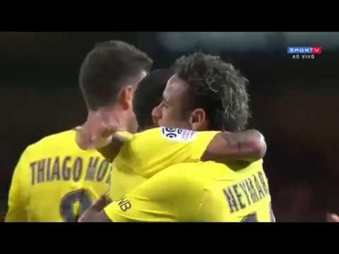 Neymar Jr ⚽ First Goal for PSG ⚽ Guingamp Vs PSG 0-3 HD #Neymar