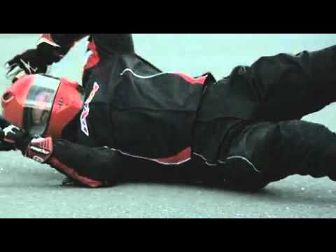 Motorcycle Safety   Protective gear in action