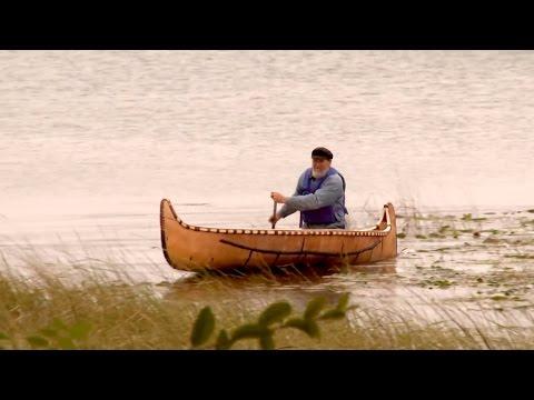 видео лодка из бересты