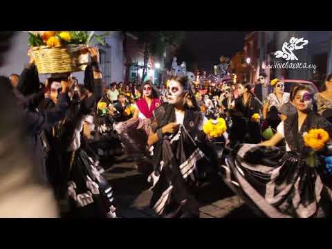 Día de Muertos 2017: Muerteada de las Chinas Oaxaqueñas de Genoveva Medina