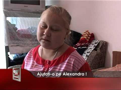 Ajutaţi-o pe Alexandra !