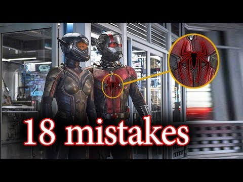 ant man and the wasp full movie mistake - ant man full movie mistake
