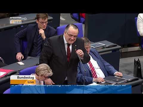 Bundestagsdebatte zum Beitragssatz in der Arbeitslosenv ...
